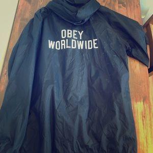 Obey Jackets & Coats - OBEY windbreaker